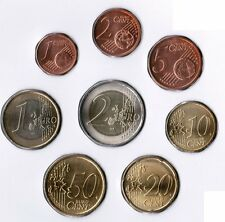 San Marino Kursmünzen 1 Cent bis 2 Euro 2005 prägefrisch in 8er Hülle