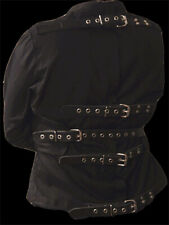 dblthick Gimmicked Straight Jacket leather straps large
