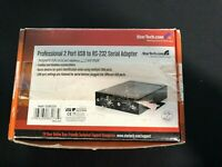 StarTech: Professional 2 Port RS-232 Serial Adapter to USB | Model: ICUSB2322X