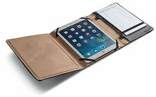 "NEW Griffin Black Leather Folio Case for iPad 2nd 3rd 4th Gen 9.7"" Stand Notepad"
