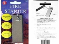 LARGE magnesium block fire starter striker emergency survival prepardness FS374