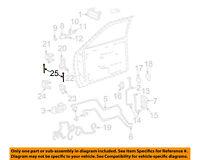 GM OEM Front Door-Hinge Pin 93356553