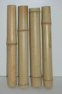 Bamboo Pole Tube 45cm, 5 cm - 6 cm Thick, Reptile, Craft, Aquarium