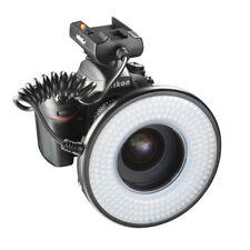 walimex pro Macro LED Ringlicht DSR 232 Set, stufenlos regulierbar, 1400 Lumen