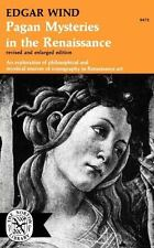 Pagan Mysteries in the Renaissance: By Edgar Wind