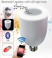 Lampadina LED Bluetooth Musica Lampada BT-LED E27 Altoparlante Audio Speaker hsb