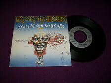 SP IRON MAIDEN / CAN I PLAY WITH MADNESS / + TAMPON PROMO / EMI 2024597 FRENCH P