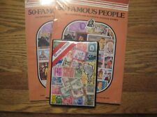 Worldwide stamps in 3 sealed packages total of 200 different stamps