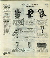 1916 ADVERT Bicycle Lamps Lights 20th Century Oil Acetylene Solar Gas Stevens