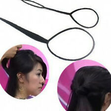 New Plastic Magic Topsy Tail Hair Braid Ponytail Styling Maker Clip Tool 1 Set