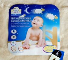 SB Baby Lambskin Rug Sheepskin Underlay Cozy Soft 100 Pure Australian 30mm Pile