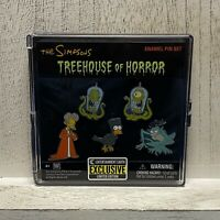 Simpsons Treehouse of Horror Pin Box Set EXCLUSIVE Halloween NYCC 2020