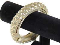 Authentic Banjara Handcrafted Bracelet Metal Belly Dancer Bangle Tribal Jewelry
