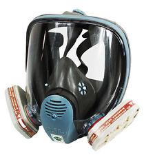 Gasmaske Für 3M 6800 Atemschutz mit Filter Vollmaske Staubmaske Lackiermaske HOT