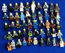 50 Lego Mini Figure Lot  Star Wars Harry Potter Spomge Bob City Space Series