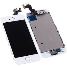 White LCD Full Assembly Lens Touch Screen Digitizer Replacement for iPhone 5S
