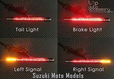 33-SMD LED Bar Brake Tail Light & Left/Right Turn Signal Lamp for Suzuki Moto