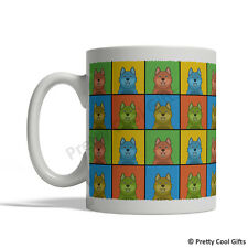 Finnish Spitz Dog Mug - Cartoon Pop-Art Coffee Tea Cup 11oz Ceramic