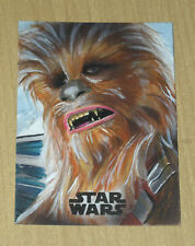 2017 Topps Star Wars Last Jedi sketch card 1/1 Kiley Beecher CHEWBACCA