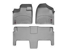 WeatherTech FloorLiner for Chrysler T&C/ VW Routan w/ Luxury Bucket Seats - Grey