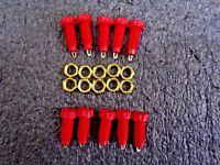 4mm Panel Socket Red, 10 Pack CN11308(TS)