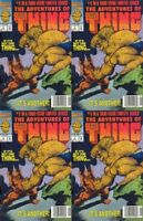 The Adventures of the Thing #1 (1992) Marvel Comics - 4 Comics