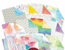"12 Double Sided Sheets from Hunkydory Birthday Bonanza 8"" x 8"" Stamping Pad NEW"