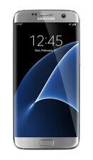 Samsung Galaxy S7 edge SM-G935A 32GB Silver Titanium AT&T Unlocked Smartphone