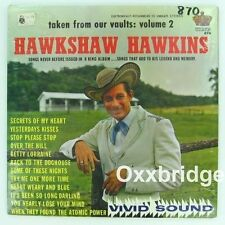 HAWKSHAW HAWKINS Taken From Our Vaults SEALED Original 1963 Gospel KING 870 LP