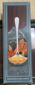 International Silver Company Silver Plated Ladle 13 1/2 Inches-NIB.