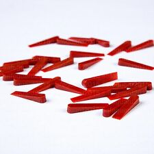 500pcs Clean Spacers Tile Adjustable Wedges 1-5mm for Floor & Wall Tiling Tools