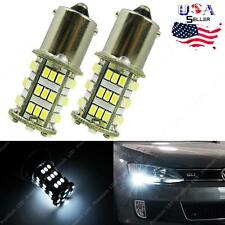 Error Free White 54-SMD LED Bulbs 2011+ Volkswagen Jetta Daytime DRL Lights