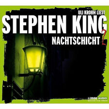 Stephen King Nachtschicht 2 Gelesen von Uli Krohm Neu+in Folie 4xCD #2000