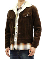 Mens Lee Rider sherpa corduroy jacket 'Brown' FACTORY SECONDS L235