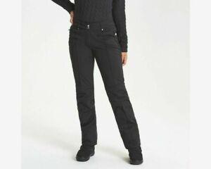 Dare2b CLARITY Skinny Black Stretch Women's Winter Ski Trousers Pants SHORT LEG