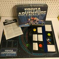 Trivia Adventure Quiz Pressman Board Game #2000 Vintage 1983 COMPLETE