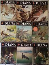 CACCIA Diana La rivista del cacciatore - lotto 9 riviste 1967