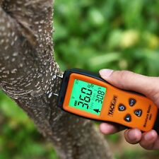 Tacklife WM-01 Holz Feuchtemessgerät LCD Digital Holzfeuchtemess mit 2P Sensor