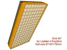 Grid for LiteMat 4 PolySkirt, Version with cell depth 76mm
