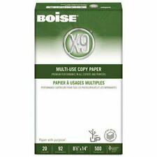 Boise X-9 Copy Paper, 92 Brightness, 8-1/2 x 14, 5000 Sheets/Carton 10 reams