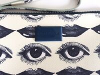 BIMBA & LOLA SPECIAL PRINT eye and lips clutch bag neceser