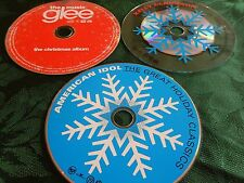 Glee Album, Kelly Clarkson & American Idol - the Great Holiday Classics 3 CD Lot