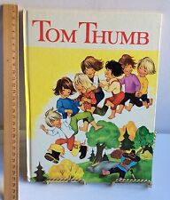Tom Thumb 1963  Vintage Children Kingfisher Colour Book Ward Lock  HC/VGC