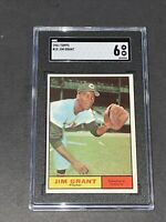 1961 Topps #18 Jim Grant SGC 6 Newly Graded & Labelled