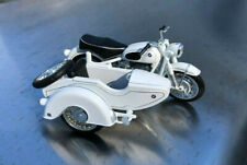 BMW Toy Miniature Motorcycle with SideCar 1/24 Scale G Scale