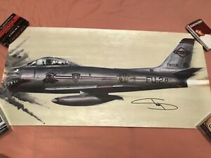 Eminem Hand Signed Kamikaze 24x12 Lithograph From Official Store Rare