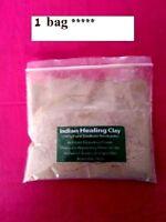 80g atzec secret indian healing clay deep pore cleansing bentonite masks skin