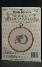 World Beatrix Potter Needle Treasures Letter O Alphabet Letters Cross Stitch Kit