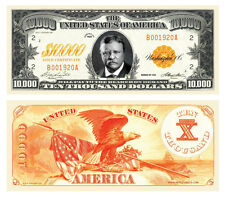 50 Factory Fresh $10,000 Gold Certificate Bill