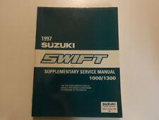1997 Suzuki Swift 1000/1300 Supplementary Wiring Service Repair Shop Manual 97 x